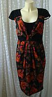 Платье женское летнее элегантное миди бренд Per Una р.44, фото 1