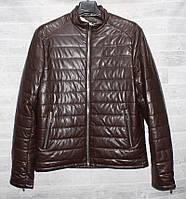 """Куртка-бомбер мужская демисезонная Fudiro, экокожа, размеры 48-56 (3цв)""""FUDIRO"""" недорого от прямого поставщика"""