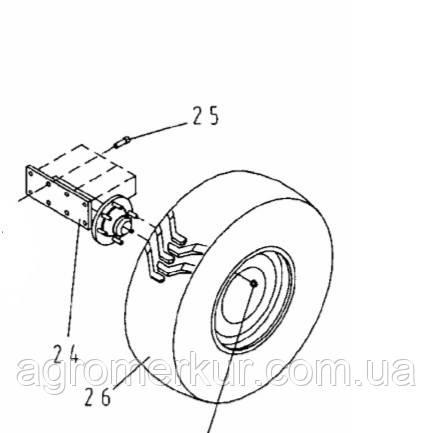 Ступиця колеса в зборі LS308500 VOGEL NOOT