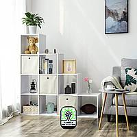 Стелаж - перегородка для дому на 10 комірок