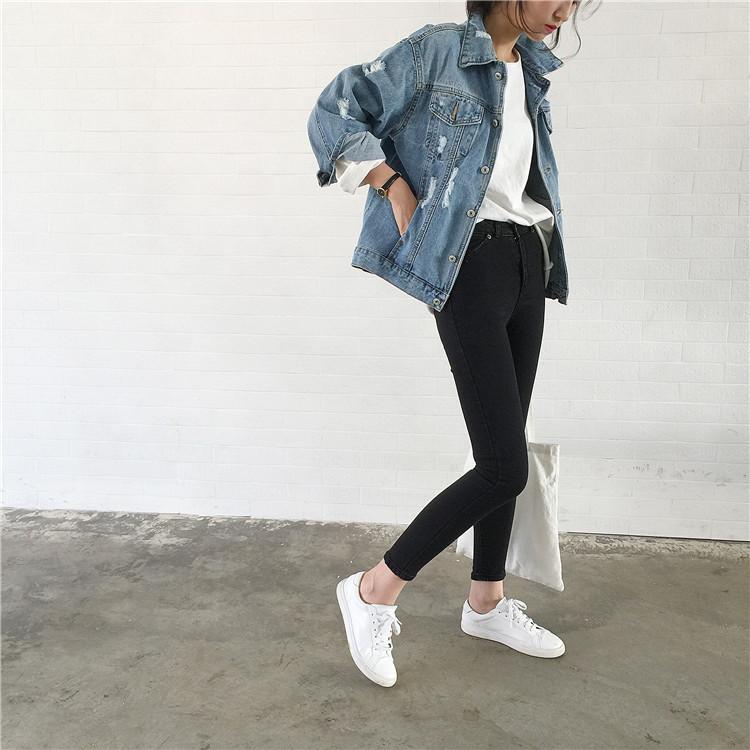 Джинсовая куртка с подертостями курточка джинсовка качество бомба!