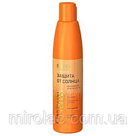 Бальзам «Увлажнение и питание» с UV-фильтром для всех типов волос CUREX SUN FLOWER