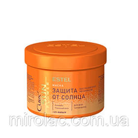 Маска «Восстановление и защита» с UV-фильтром для всех типов волос CUREX SUN FLOWER