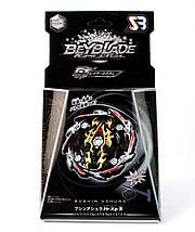Волчок Бейблэйд Бушин Ашура Блэк Эдишн Бейблейд Beyblade Bushin Ashura Black с пусковым (GT-00-135), фото 3