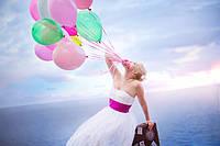 Запуск шаров на свадьбу