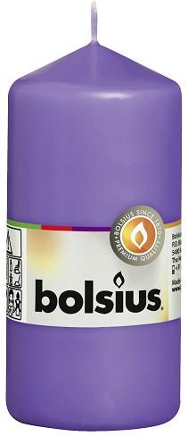 Свеча цилиндр Bolsius 12 см ультрафиолетовая (60/120-32758)