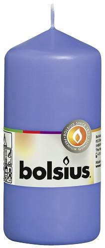 Свічка циліндр Bolsius 12 см волошкова (60/120-32772)