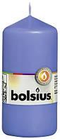 Свеча цилиндр Bolsius 12 см васильковая (60/120-32772)