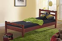 Кровать деревянная Венера 90-200 см (каштан)
