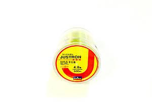 Лескa Daiwa Justron 0.33 мм тест 11 кг флуоресцентная, намотка 500м, фото 2