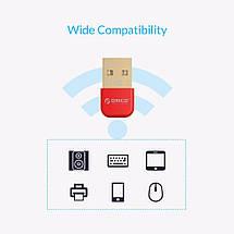 USB Bluetooth адаптер ORICO беспроводной передатчик bluetooth 4.0 для компьютера, ноутбука BTA-403, фото 2