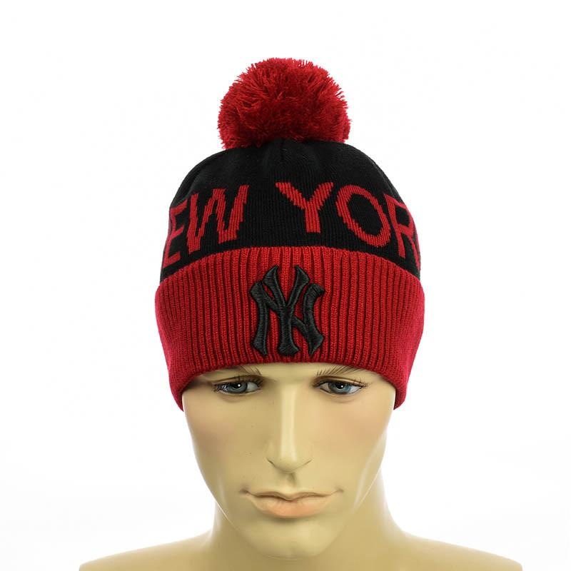 """Молодіжна чоловіча шапка """"New York"""" ."""