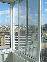 РАЗДВИЖНЫЕ алюминиевые балконы