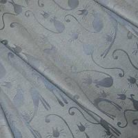 Скатертная акрил миро ангора т.серый