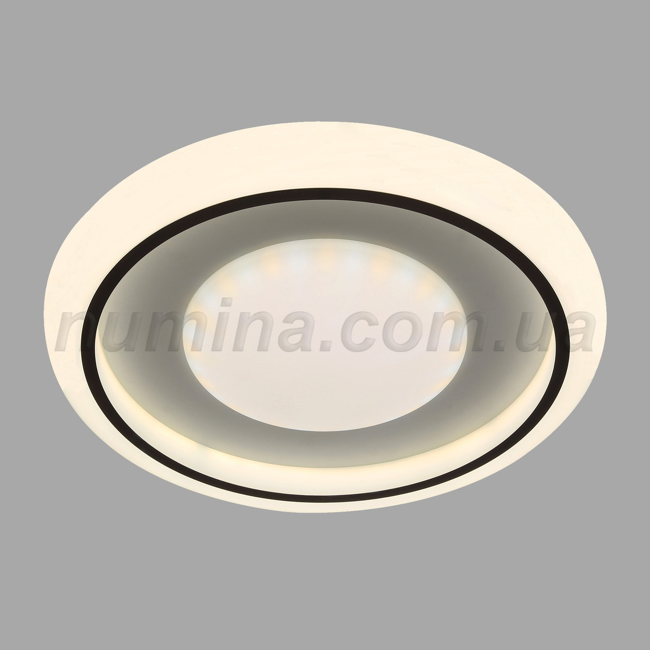 Люстра стельова LED 10-6725B D500(70W*2)WT