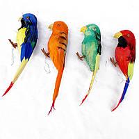 Попугай муляж 19 см