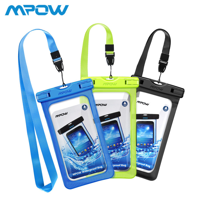 """Чехол водонепроницаемый Mpow Waterproof IPX8 для мобильных телефонов до 6"""""""