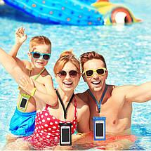 """Чехол водонепроницаемый Mpow Waterproof IPX8 для мобильных телефонов до 6"""", фото 3"""