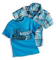 Комплект рубашка-шведка+футболка, Германия C&A