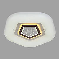 Люстра потолочная LED 10-6734 D500(50W*2)WT