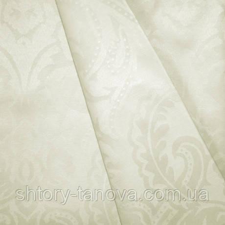 Ткани для скатертей с акрилом вензель крем