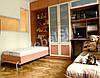 Подьемная кровать,встроенная в шкаф