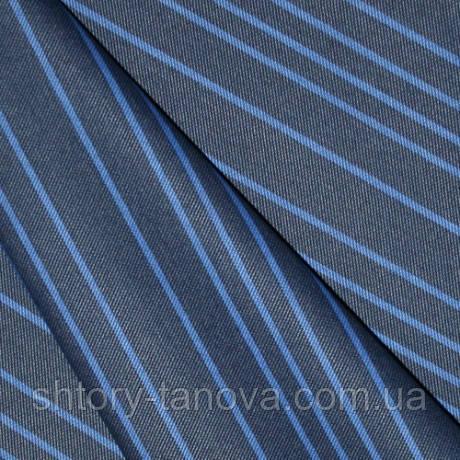 Скатертная акрил полома т.синий-св.синий