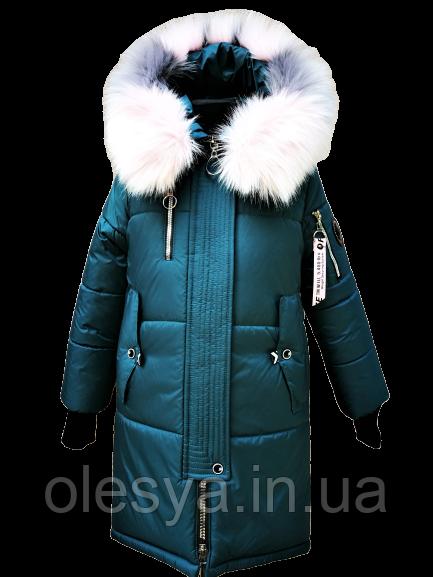 Зимнее длинное пальто парка для девочек Норвегия. Размеры 116- 158 Новинка 2019
