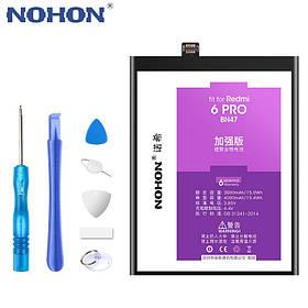 Аккумулятор Nohon BN47 для Xiaomi Redmi 6 Pro (емкость 4000mAh)