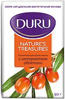 DURU увлажняющее крем мыло с экстрактом облепихи 90г