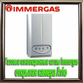 Газовые конвекционные котлы Immergas открытая камера Avio
