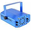Лазерний проектор, стробоскоп, диско лазер UKC HJ08 4 в 1 c триногой Синій 4053, фото 4