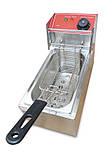 Фритюрница чебуречница GoodFood  EF4 электрическая профессиональная 4 литра, фото 2