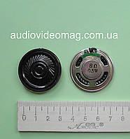 Динамик, сопротивление Ω 8 Ом, 0.5 Вт, диаметр 36 мм, металлический корпус