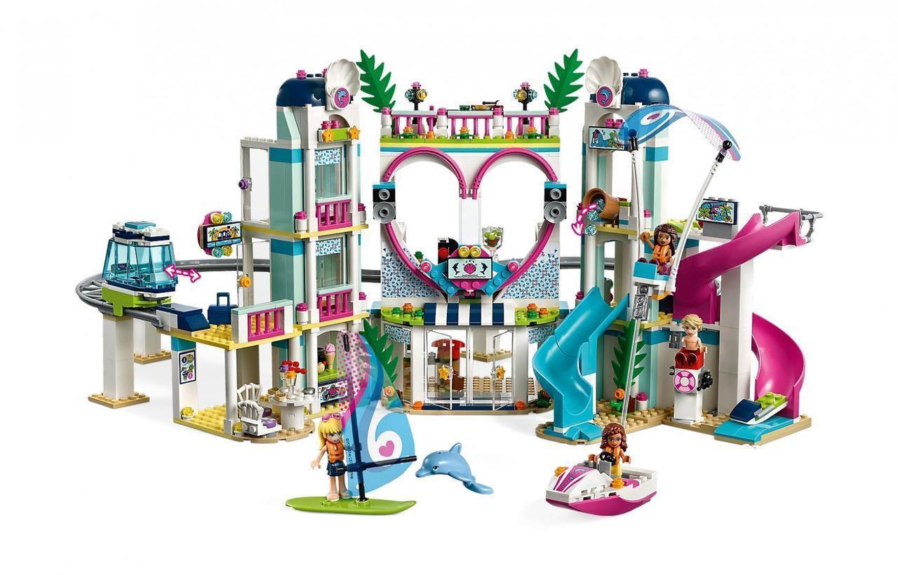 "Конструктор SY1155 (Аналог Lego Friends 41347) ""Курорт в Хартлейк Сити"" 1150 деталей"