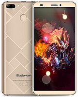 "Blackview S6 gold 2/16 Gb, 5.7"", MT6737, 3G, 4G, фото 1"