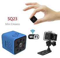 Мини-камера SQ23 (WiFi) + Аквабокс (blue)