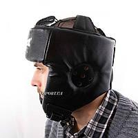 Шлем боксерский защитный кожаный Boxer М Элит (bx-0077), фото 1
