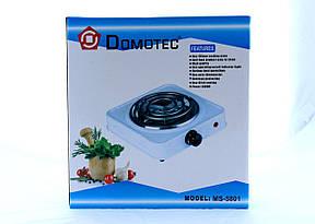 Электрическая плита Domotec MS 5801 (настольная), фото 2