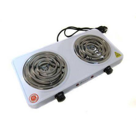 Электроплита двухконфорочная спираль Domotec MS-5802 ( настольная электроплитка ), фото 2