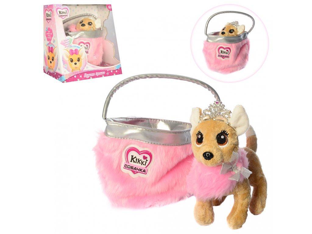 Интерактивная собака в сумочке Кикки аналог Chi Chi Love M 3481-N-UA