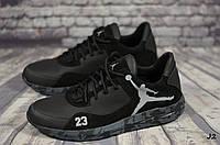 Мужские кожаные кроссовки Jordan  (Реплика) (Код: J2  ) ► Размеры [40,41,42,43,44,45], фото 1