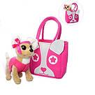 Интерактивная собака в сумочке Кикки аналог Chi Chi Love M 3641-N-RU, фото 3