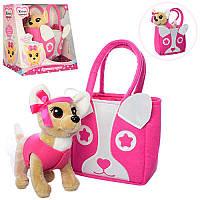 Интерактивная собака в сумочке Кикки аналог Chi Chi Love M 3641-N-RU