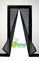 Москитная сетка на магнитах для двери, 100х220 см