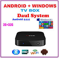 Android TV BOX + WINDOWS TV BOX +НАСТРОЙКИ I-SMART