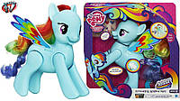 Интерактивная пони Рейнбоу Деш Май литл пони My Little Pony the Movie Flip Whirl Rainbow Dash