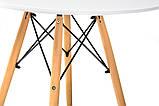 Стол круглый МДФ TM-35 белый Ветро, фото 6