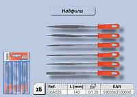 Набор надфилей 6шт., Top Tools 06A025