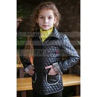 Детская деми куртка-жакет